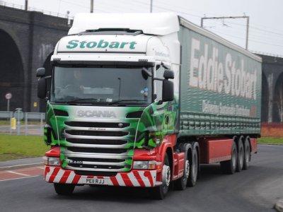 Șoferii de la Eddie Stobart vor declanșa o grevă în luna februarie