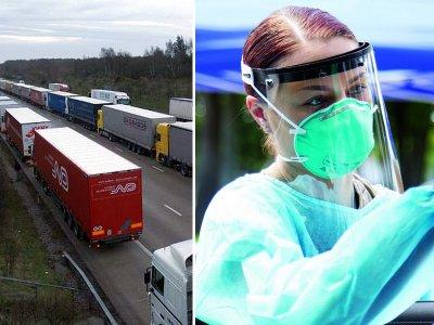 Новый порядок пропуска водителей в Великобританию в связи с пандемией COVID-19
