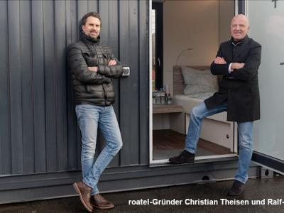 Doi antreprenori germani construiesc hoteluri pentru șoferi în… containere
