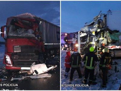 В ДТП в Литве погибли водители из России и Латвии. Дорога Мариямполе-Сувалки закрыта