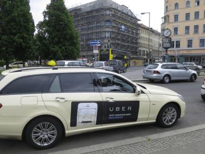 Kooperation von Uber mit einer beliebten Logistikplattform