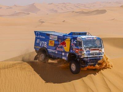 Znamy zwycięzców rajdu Dakar 2021 w kategorii ciężarówek. Wielki triumf Kamaza