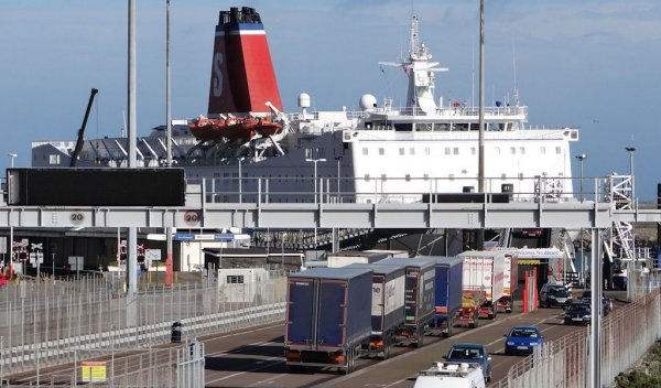 Freight traffic on Fishguard to Rosslare route down 70%
