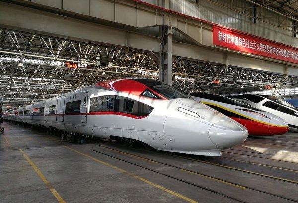 Pociąg towarowy szybki jak TGV