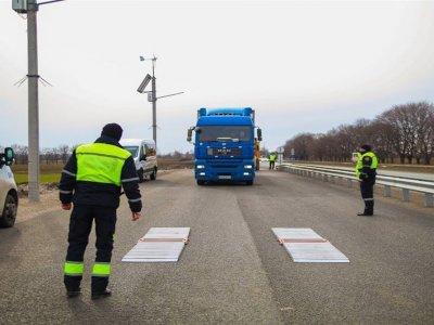 В 2020 г. украинским водителям за перегруз начислили почти 4 млн евро штрафов