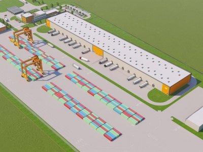 На границе с Украиной строится крупнейший наземный перевалочный терминал в Европе