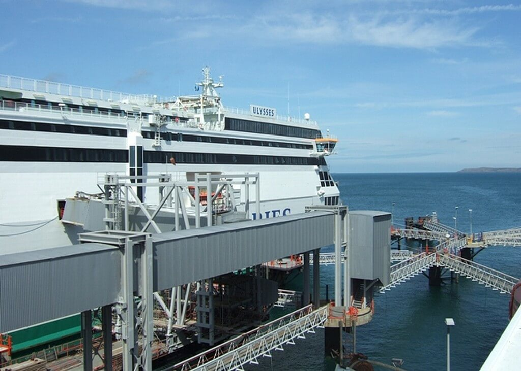 Holyhead Port's freight traffic falls to just one-third of its usual capacity