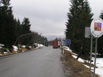 Запреты движения грузовиков на границе Польши и Чехии