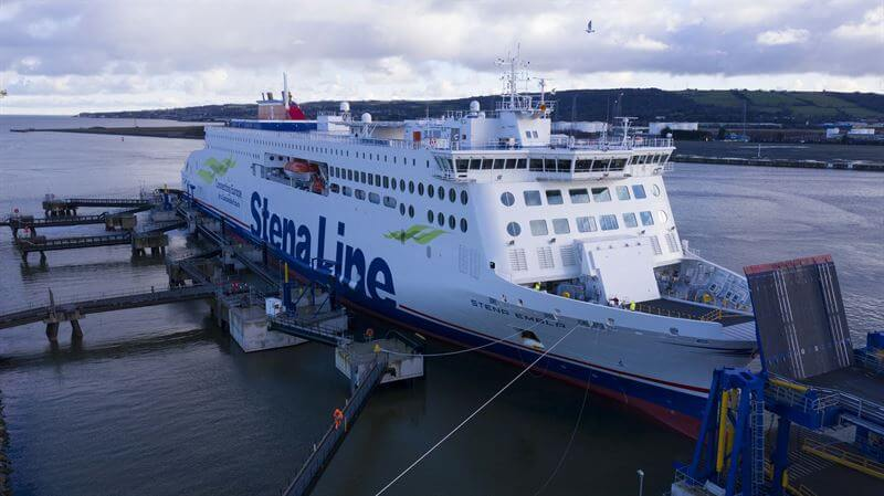 Stena Line shifts newest vessel off UK route to serve Irish hauliers bound for France
