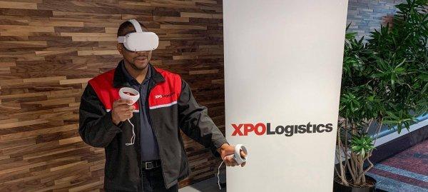 XPO szkoli kierowców używając wirtualnej rzeczywistości. Zobacz, jakie korzyści płyną z tego rozwiąz