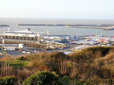 """Trucks are now flowing into Dover """"at near normal levels"""". So where are the queues?"""