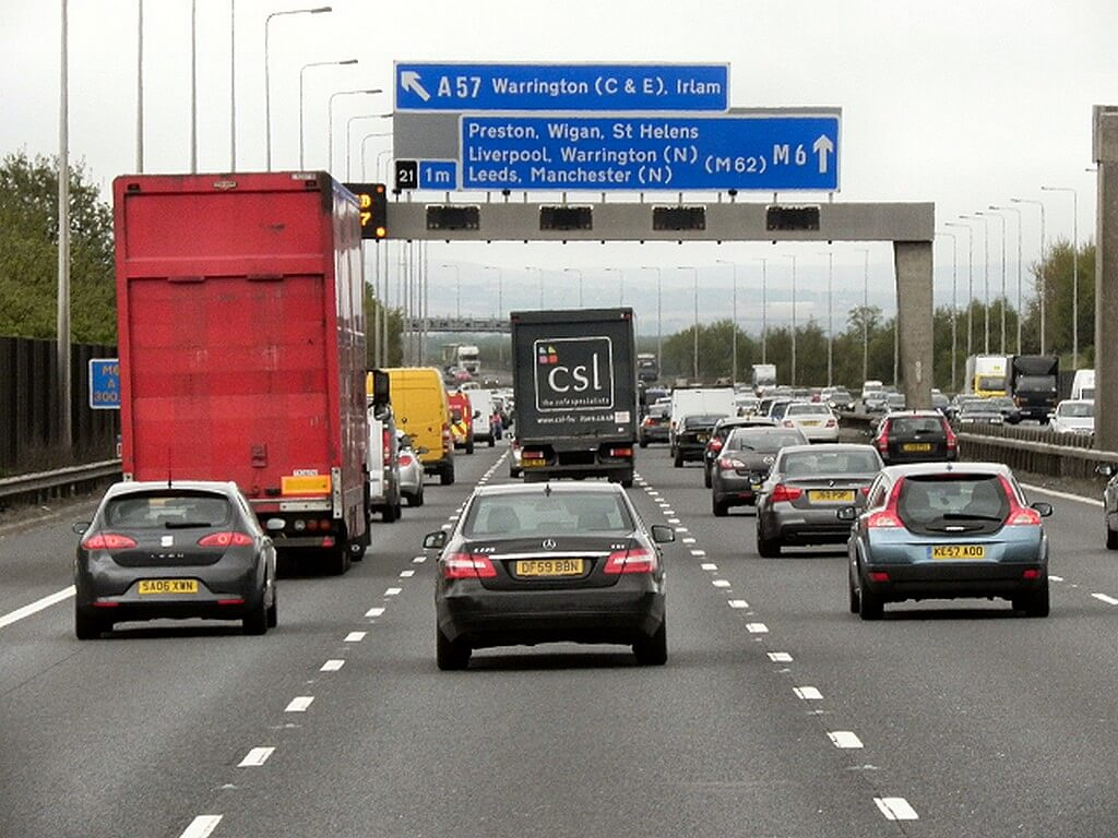 Stretch of the M6 to be transformed into a Smart Motorway next month