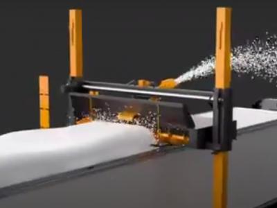 Video I Sistem inteligent de îndepărtare a zăpezii de pe remorcă
