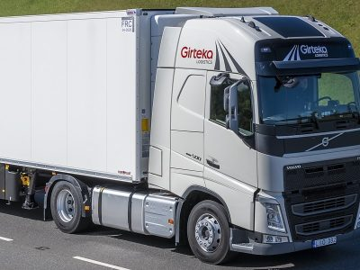 Girteka Logistics tools up fleet with purchase of 2,000 Volvo FH trucks