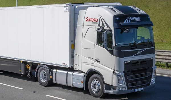 Girteka Logistics tools up fleet with purchase of 2,000 Volvo FH trucks