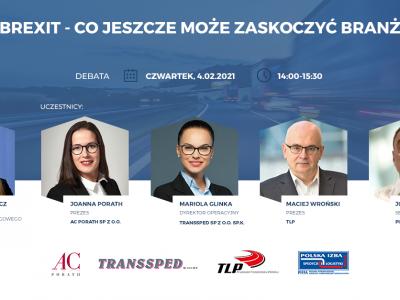 Brexit i jego wpływ na pracę oraz interesy polskich przewoźników. PITD zaprasza na debatę online