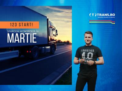 """Gabriel Sîrbu, CEO South & East Europe, Trans.eu: """"Am dezvoltat o alternativă modernă și integră la bursele clasice de transporturi"""""""