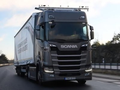 Scania given permission to test self-driving trucks on Sweden's E4 motorway