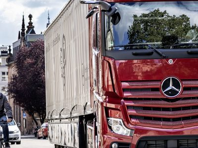Spain's DGT looking at France-style blind spot standard for lorries