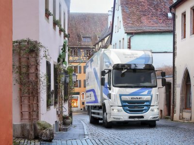 A teherautók gyártása a világjárvány előtti szintnél magasabb szinten – a DAF számára pozitívban van