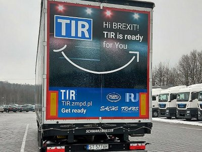 IRU back TIR system as a means of streamlining Brexit customs checks