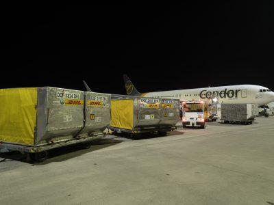 Condor hebt für DHL Express ab