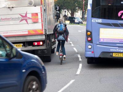 Ohne HGV Safety Permit dürfen Lkw den Großraum London nicht befahren