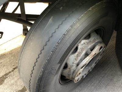 Truck towed out of Germany after being found with countless defects