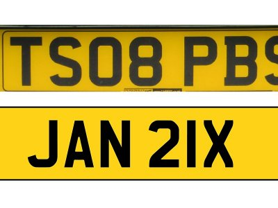 """Unveiling of UK licence plates without EU flag a """"historic moment"""", says Grant Shapps"""