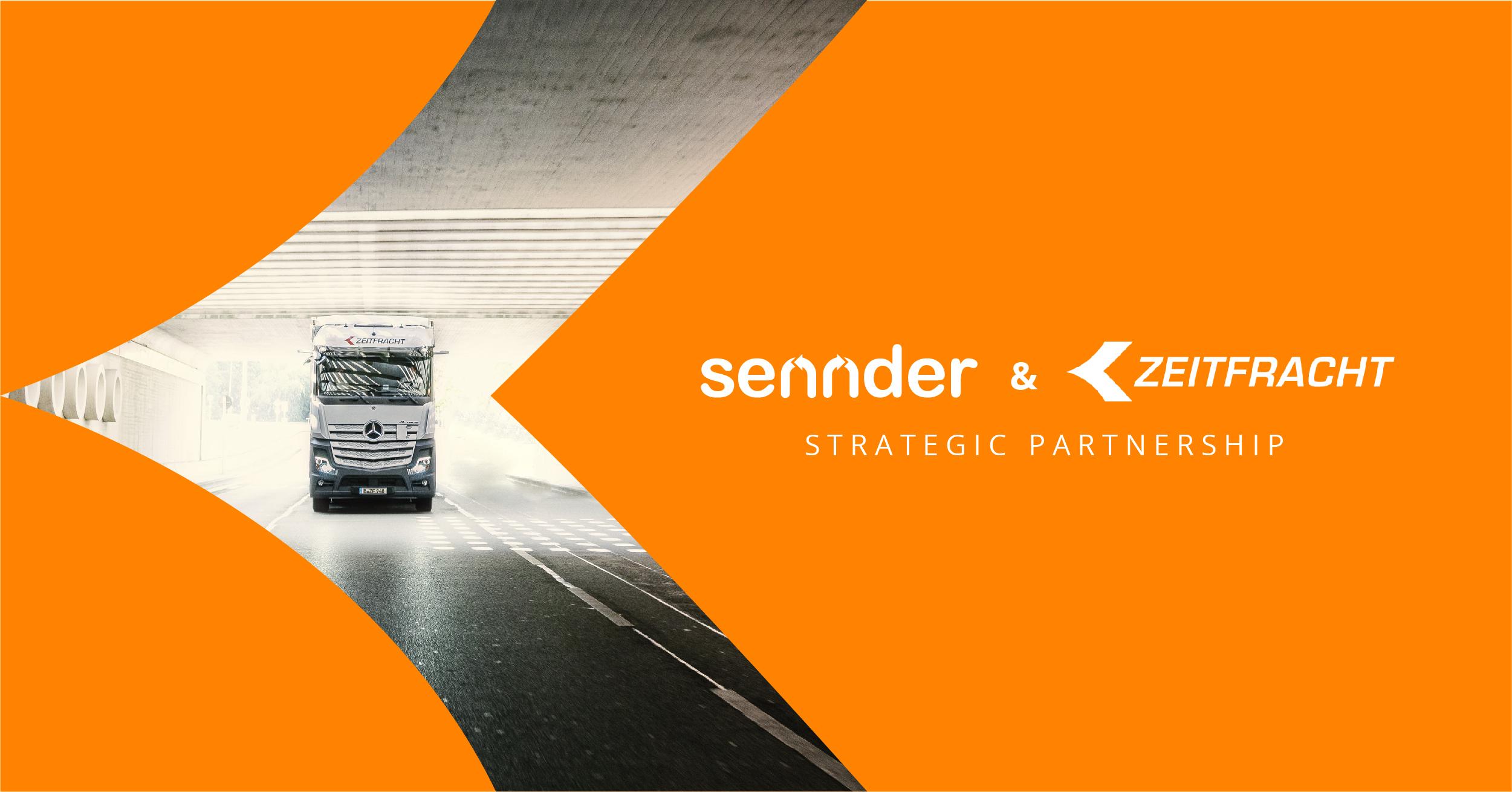 sennder licenses SaaS platform to Zeitfracht in new strategic partnership