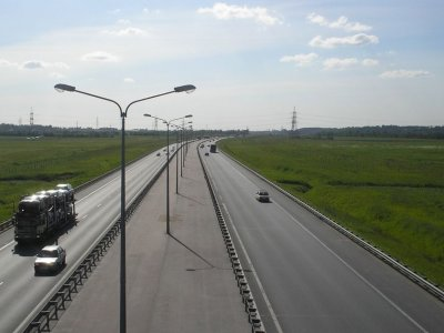 Санкт-Петербург запретил въезд в город грузовикам «Евро-3»