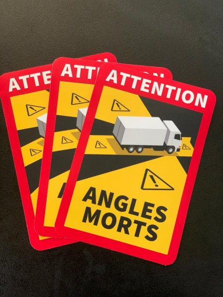 "Uwaga! Nowe wymogi we Francji – naklejki ""Angles Morts"""