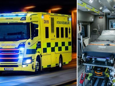 Stockholm purchases unique Scania R 410 ambulance
