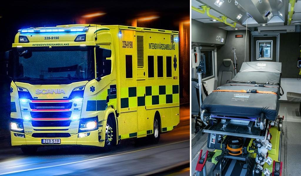 Stockholm purchases unique Scania R 410 ambulance