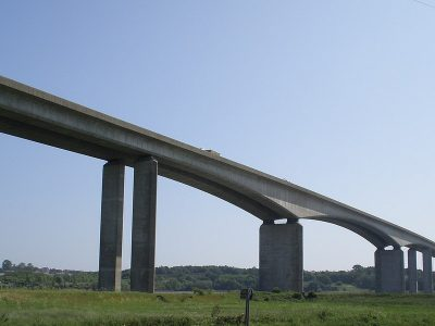 Suffolk MP blames HGV drivers for closures of Orwell Bridge