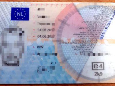 Verschärfte Kontrollen der Einhaltungder Lenk- und Ruhezeiten in den Niederlanden. Für Tachomanipulation wird Fahrerkarte entzogen!