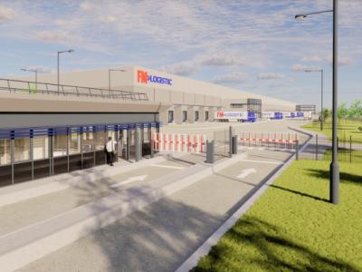 FM Logistic buduje magazyn 10 km od planowanego Centralnego Portu Komunikacyjnego