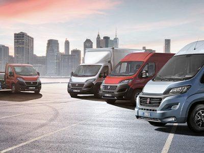 Fiat Ducato feiert seinen 40. Geburtstag als meistverkaufter Kleintransporter in Europa