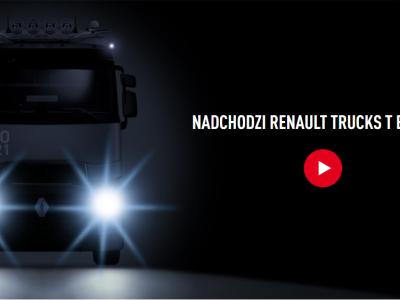 Новый грузовик Renault T EVO 2021. В сеть попали фотографии новой модели
