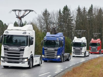 Újabb megrendelés áramszedős Scania-ra