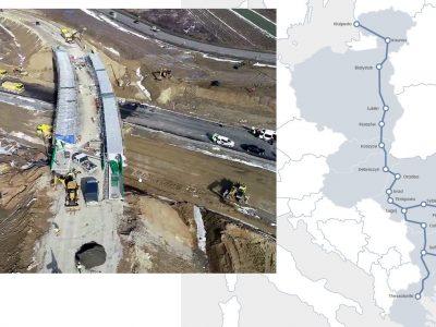 Te drogi wyrównają szanse wschodniej i zachodniej Europy. Staną przy nich nie tylko terminale przeładunkowe