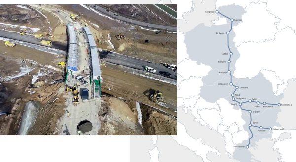 Te drogi wyrównają szanse wschodniej i zachodniej Europy. Staną przy nich nie tylko terminale przeła