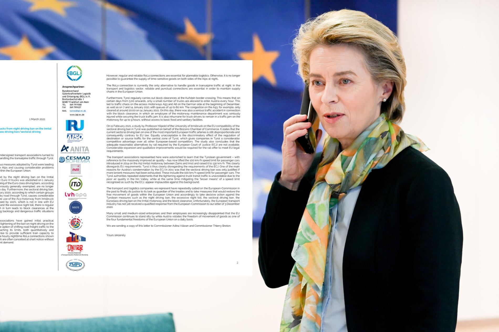"""Перевозчики бьют тревогу: """"Австрия нарушает свободное передвижение товаров"""". Что на это ответит Брюссель?"""