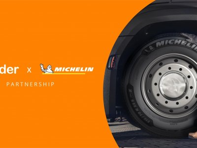 Michelin teams up with sennder to find ways to cut road freight costs