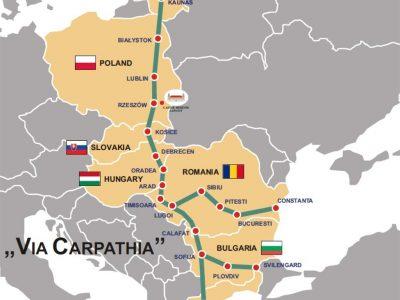 Lietuva palaiko Lenkijos siekį Via Carpatia maršrutą įtraukti į transeuropinį transporto tinklą