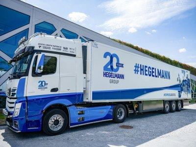 """""""Hegelmann"""" transporto parke atsiras 1000 naujų vilkikų"""