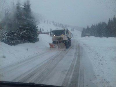 Atenție șoferi! Revine iarna