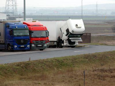 2021-es teherautó forgalmi korlátozások Lengyelországban