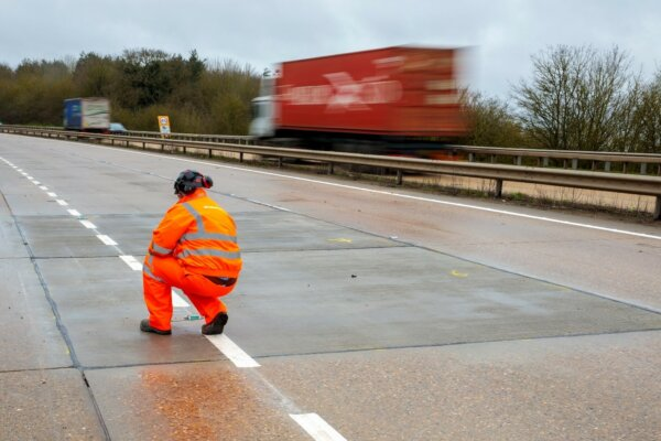 £400 million to be spent upgrading concrete roads in East England