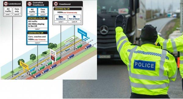 """Szykują się duże zmiany dla kierowców ciężarówek w hrabstwie Kent. """"Pierwszy krok do normalności"""""""
